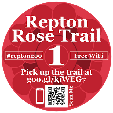 Repton Rose Trail at Aylsham Parish Church @ Aylsham Parish Church