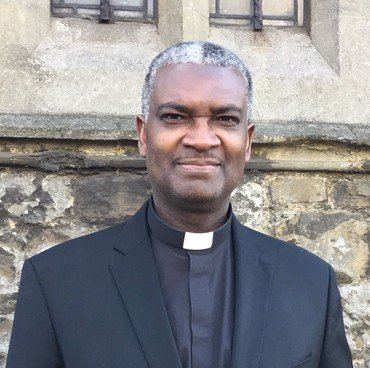 Photo of our Vicar, Reverend Dr. Chigor Chike
