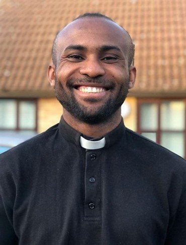 Photo of our Curate, Reverend Cannon Prince Odoemena