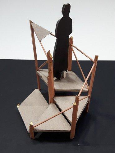 Model af ny prædikestol