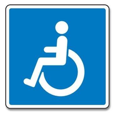Handicapskilt ikon