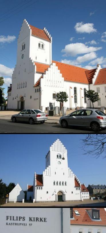 Filips kirke set fra Kastrupvej