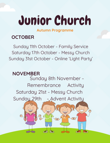 Craft Activity for Young People at St Mark's
