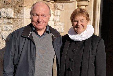 Præsteparret Kenneth Petersen og Karin Skovbjerg Jensen