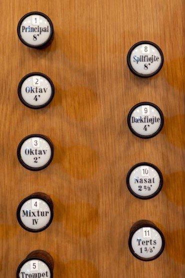 orgel hoveværk