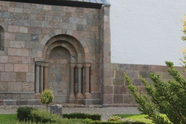 Nordportalen i Vorning Kirke