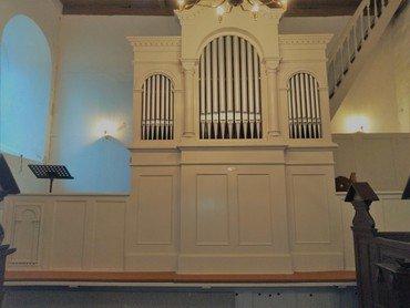 Orglet i Kvorning Kirke