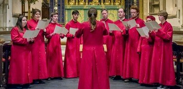 Photo of our choral scholars