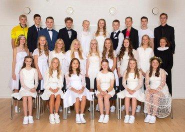Konfirmation 15. august 2021 i Hadsund kirke