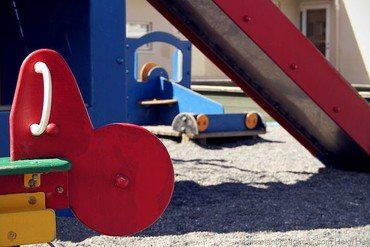Spielgeräte Außengelände Kindertagesstätte