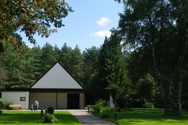 Die Kapelle des Waldfriedhofs