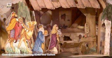 TV-gudstjeneste fra Storring kirke