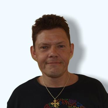 Kirketjener Ib Christian Kragh