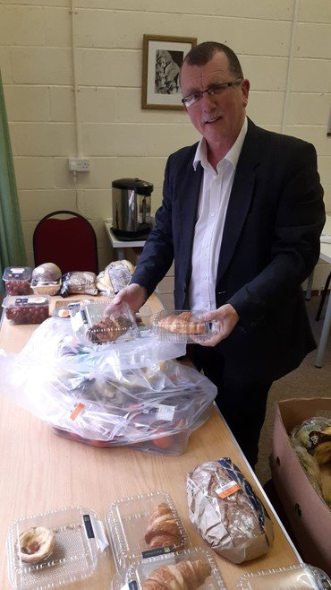 Feed the Community, FareShare and FoodCloud distribution