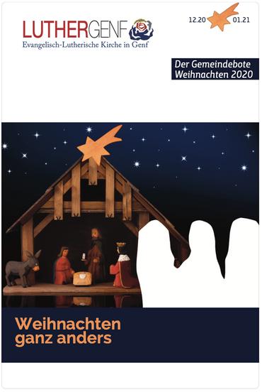 Gemeindebote der Lutherischen Kirche in Genf, Dezember 2020