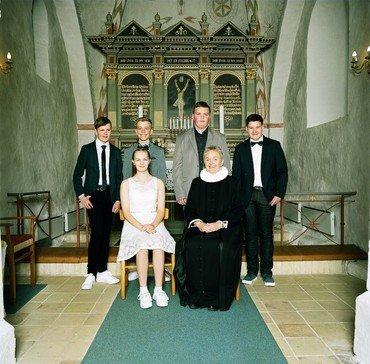 Konfirmander, Øster Alling Kirke søndag den 5. maj 2019 kl. 9.30