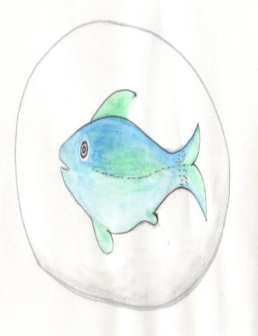 Fish stone