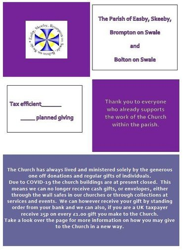 Image of Giving booklet