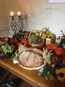 Frugt og brød