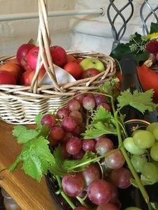 Druer og æbler