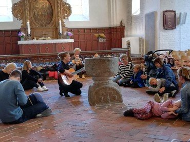 Krea-dag. Musik i kirken.