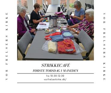 Kom og være med til vores strikkecafé