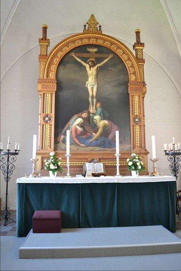 Altertavle i Vor Frue Kirke