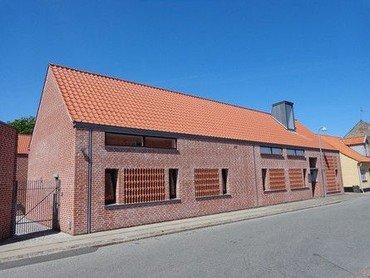Sognegård og kirkekontor på Nørregade 1 i Grenaa