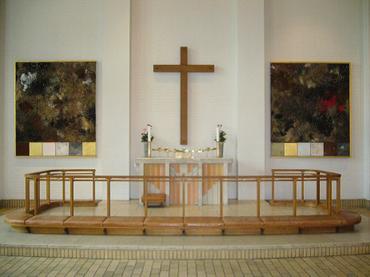 Adventskirkens alterparti