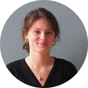 Portræt af Ella Van Gilse van der Pals