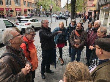 Führung durch das Viertel mit Werner Fuchs