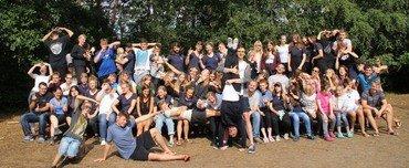 Die Teilnehmer der Jugendfreizeit 2018. (Foto: Diekmeyer)