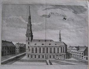 Den store brand, som hærgede København i 1728, gik ud over hele fem kirker, herunder Vor Frue Kirke.