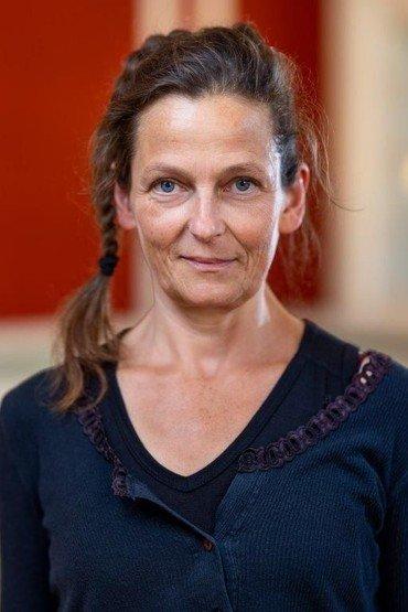 Kirketjener Elise Utke Schiøler