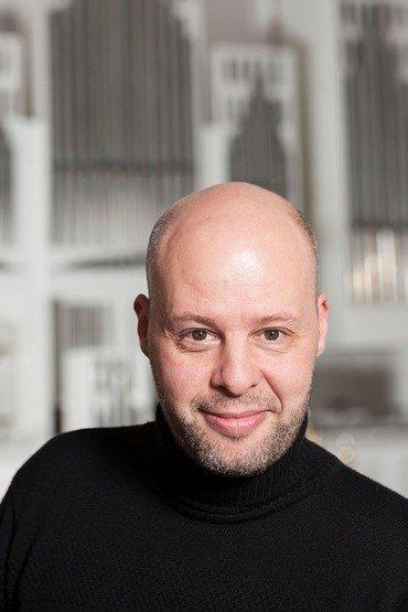 Organist Jens Sparrevohn Rønn