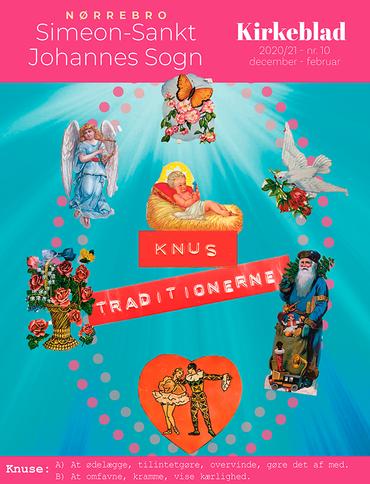 Forsiden af Simeon-Sankt Johannes Sogns Kirkeblad sept. 2020