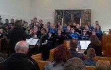 Arden Børne- og ungekor synger i Arden kirke