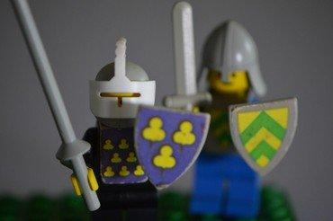 Lego ridder figurer