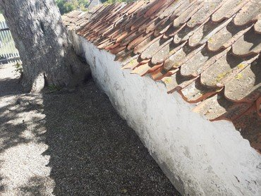 Mur før hærværk