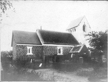 Odby Kirke, præsenteret i en ældre pjece