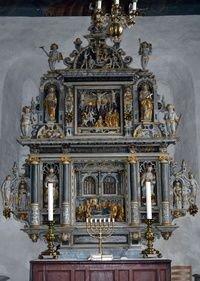 Altertavle i Asmild Kirke