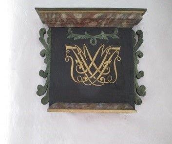 Detalje fra altertavlen