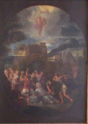 Billede, ilustration. I Jerusalem sluttede flere og flere op om Guds ord. Stefanus var sikker i sin tro, og fra ham kom undere, stor klogskab og indsigt