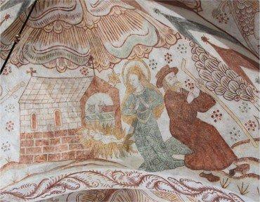 Hvælving i Skivholme kirke