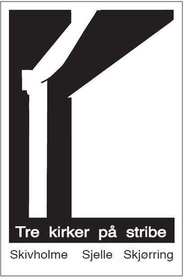Logo for Tre kirker på stribe
