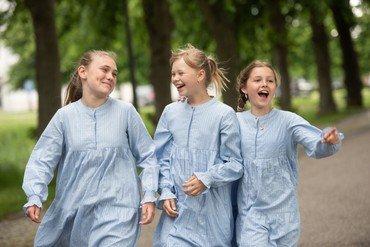 Ttre juniorkorpiger i løb