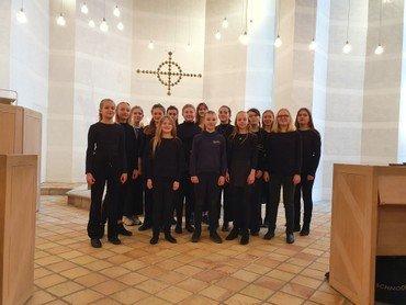 Ungdomskoret i Egedal Kirke