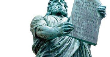 Statue, Moses med stentavlerne