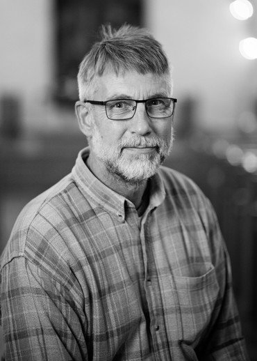 Foto af kirketjener Christian Hattesen Petersen