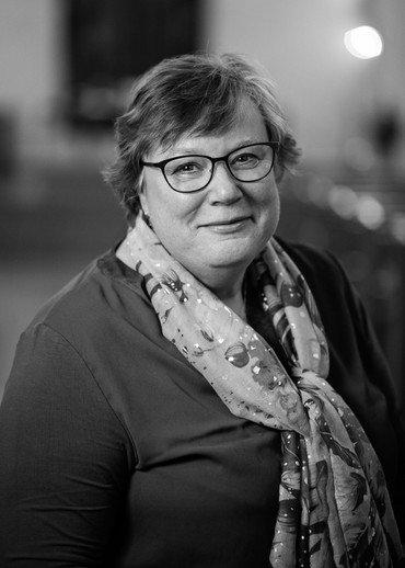 Foto af formand for kirkeudvalget Henriette Oest Lensbøl
